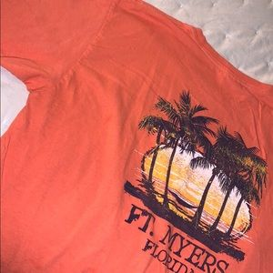 🤍NEW Ft. Myers, FL Coral Tee Shirt